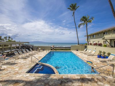 Photo for Shores of Maui #105 Steps from Charley Young Cove, 2/2, Full A/C, Sleeps 6