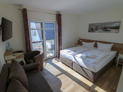Photo for Double Room with Balcony - Usedom Bike-Hotel & Suites *** 80 m to the Baltic Sea beach