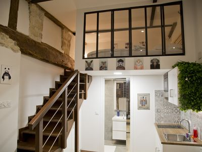 Photo for New luxe apt Notre-Dame Saint Germain Latin Quarter