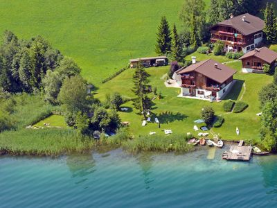 Photo for Large apartment with a fantastic lake view