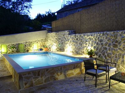 Photo for Ideal getaway vacation near Dubrovnik, private pool,family & group vacation