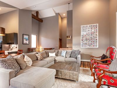 Photo for Modern Ski Chalet in West Vail