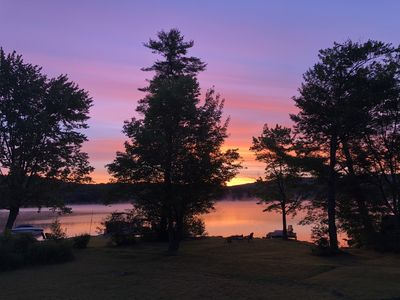 Photo for Long Lake Cottage, Bridgton ME, Sandy Beach Walk-in Access, Boat Dock, Tie Up