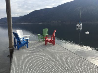 Photo for The Beach House on Kootenay Lake - call Catherine 250 825 4181