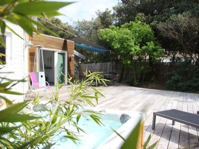 Photo for beautiful contemporary wood frame house in St Trojan les Bains (Ile d'Oleron)