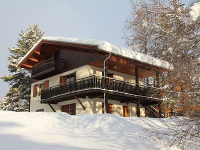 Photo for Beautiful cottage on large lot, Serre-Chevalier 1500