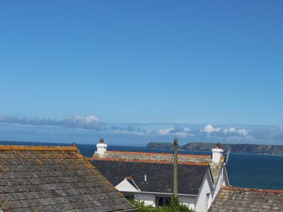 Photo for Coast View cottage. Sea views.  Parking.  Dogs welcome
