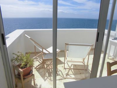 Photo for FIRST LINE BEACH, SEA VIEWS, QUIET, BEACH, WIFI FREE WALKING