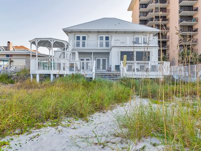 Photo for Beach-Front Oasis w/ Hot Tub! 4BD/4BA! Sleeps up to 24!