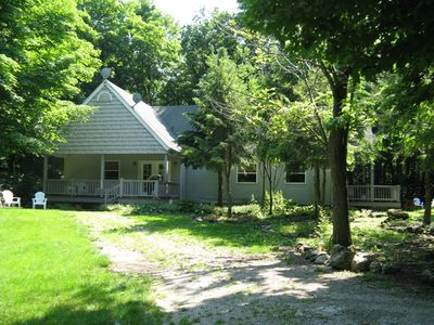 Photo for Sleeps up to 16 great quiet place in the woods!  Not far for nightlife action!