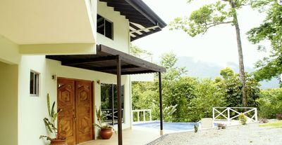 Photo for Casa Cedro - Very private home with panoramic jungle views and infinity pool