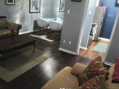 Photo for condo 2 bedroom and 2 bath apartment with washer and dryer in central oaklawn