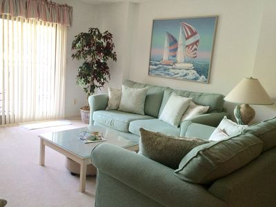 Photo for Ocean One 306 - Oceanside 3rd Floor, beautiful condo with prime beach location