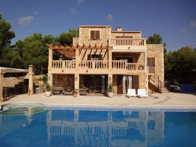 Photo for Enchanting Finca with Multiple Terraces and Private Saltwater Pool !