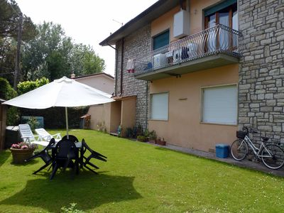 Photo for Beautiful two-family house in the 1. Floor only 200 meters from the sandy beach.