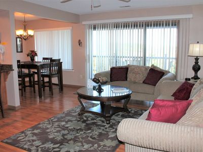 Photo for Cozy Spacious 2 bed 2 bath w/fantastic lakeview- Extra large deck- Classic/Vintage Décor-Close to SDC!