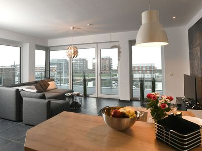 Photo for Harbor loft in perfect location, great views and 30sqm sundeck