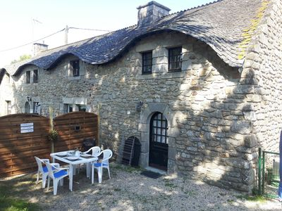 Photo for Small farmhouse 150m from the beach - Bétahon - 2 to 4 people