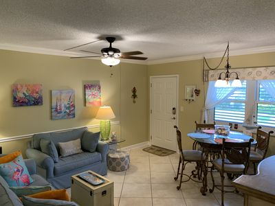 Looking for the perfect get-away? One block to the beautiful Marco Island beach