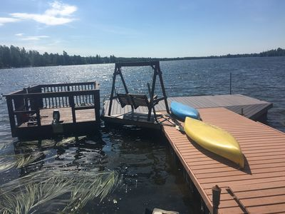 Photo for Beautiful And Relaxing Big Beaver Lakefront Property.