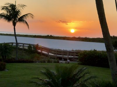 Photo for Beautiful just renovated condo with full view to the Gulf and Amazing Sunsets.