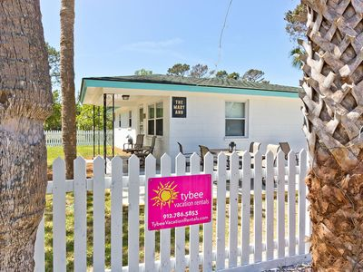 Photo for Classic Tybee Bungalow, Renovated and Modern, Pet Friendly and only 5 Blocks to the Beach!