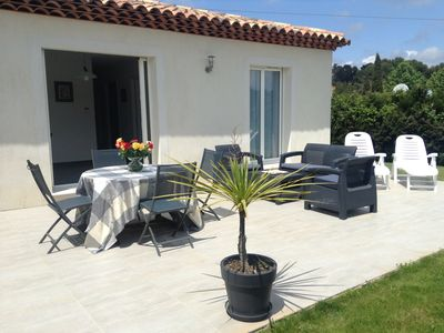 Photo for MINI VILLA, sun and greenery on the Cote d'Azur close to CANNES