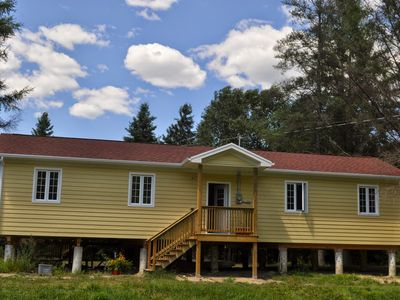 Photo for 2 Bedroom Waterfront Cottage on Burnt River in Kawartha
