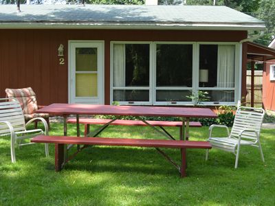 Photo for **SPRING DISCOUNT!** (See description) One Bedroom Cottage with Private Beach!