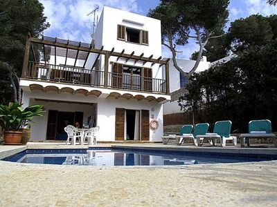 Photo for Villa for 6 people en Cala d'Or. TV Sat.  Private Pool. Mallorca. - Free Wifi