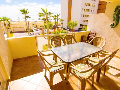 Photo for Beautiful 1 Bedroom Condo on the Sea of Cortez at Las Palmas Resort BN-203A