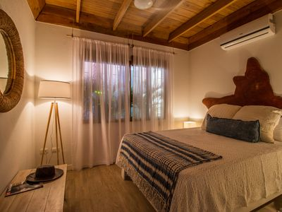 Photo for Only steps to the surf and a short walk to yoga, this modern casita sleeps 6.