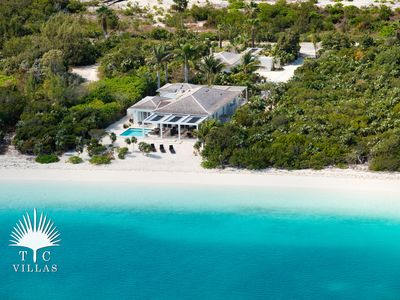 Photo for Experience the Turquoise Views of Turks and Caicos at Stunning 4BR Villa