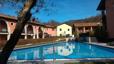 Photo for 2 FLOOR APARTMENT WITH POOL ON GARDA LAKE