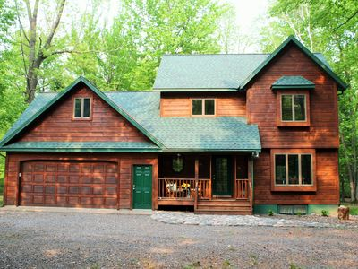 Photo for Northwoods Get Away!  Enjoy the privacy of this property next to Big Lake Chetac