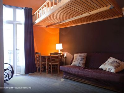 Photo for Charming two-bedroomed appartement in Montpellier center