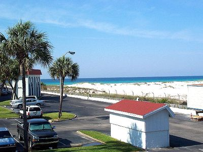 Photo for Studio Looking to the Gulf - Sleeps 4, Steps to the Quiet Pool!
