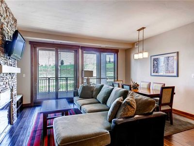 Photo for Stylish Condo w/Wood Floors, Cozy Fireplace and a Gourmet kitchen