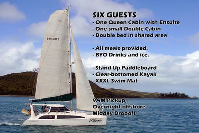 XTsea - Skippered Whitsundays cruise with all meals - Airlie Beach