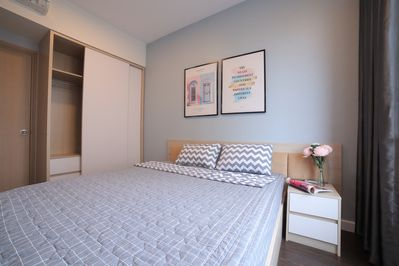 Bedroom with comfortable