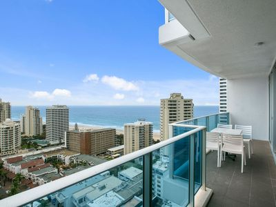Photo for For a holiday apartment that is as spectacular as Surfers Paradise Beach itself.