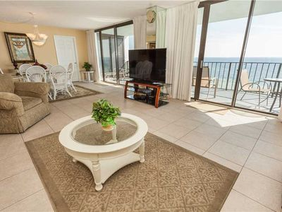 Photo for Scenic Views From This Spectacular Ocean Front Unit With Internet And Cable