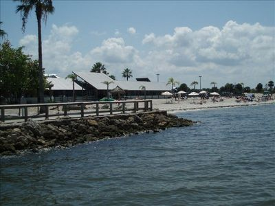 view from the fishing pier