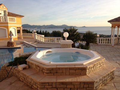 Photo for One of the most beautiful villa on the coast between Frejus and St Tropez