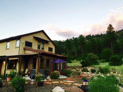 Photo for Stunning eco-home to nurture rest, romance, good health and adventure!
