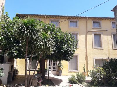 Photo for Large family villa near Canal du Midi and large sandy beaches