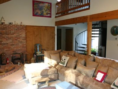 Photo for Beautiful Contemporary on Four Acres in the Berkshires (Monterey) with WIFI