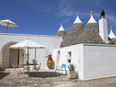 Photo for The perfect Trulli for a family or couples. Holiday home in Cisternino.