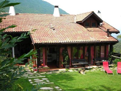 Photo for ANDALO COZY MOUNTAIN CHALET IN THE NATURAL PARK ADAMELLO BRENTA
