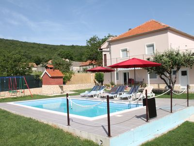 Photo for Holiday home Miramary with private pool, bbq, nature near Split